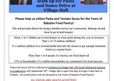 Pasta & Sauce Drive through 9/28