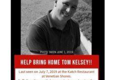 MISSING PERSON – Tom Kelsey