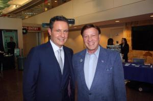 Mayor Mike with Brian Kilmeade,  FOX and Friends Co-host and Author